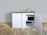 Miniküche MKM 120 Tee-Pantry links Becken rechts ohne Kochfeld