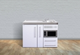 Miniküche MPM 120A Tee Pantry links Becken rechts Mikrowelle