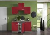 Juniorküche Imola glanz rot 1,50 m