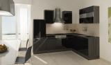 respekta L Küchenzeile RP260ESCOS 260x200 cm eiche schwarz Hoch