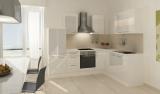 respekta L Küchenzeile RP260WWCOS 260x200 cm weiss Hochglanz