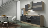 Küchenblock RP270AGC grau hochglanz
