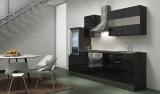 Küchenblock RP270ESC schwarz hochglanz