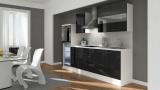 Küchenblock RP270HWS schwarz hochglanz