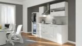 Küchenblock RP270HWW weiss hochglanz