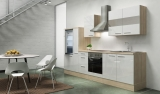 Küchenblock RP300AWC akazie weiss hochglanz