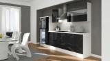 Küchenblock RP300HWS schwarz hochglanz