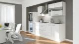 Küchenblock RP300HWW weiss hochglanz