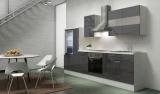 Küchenblock RP300WGC grau hochglanz