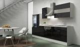 Küchenblock RP300WSC schwarz hochglanz