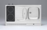 Pantry-Abdeckung 100 Glaskeramik Kochfeld Schalter Front