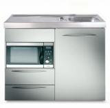 Miniküche MPMES 100 Tee Pantry Kühlschrank Mikrowelle