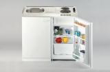 Miniküche Pantry 100SV mit Kühlschrank