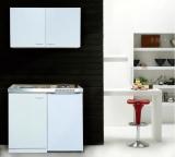 Küchenblock MK100WOSSV mit Kühlschrank